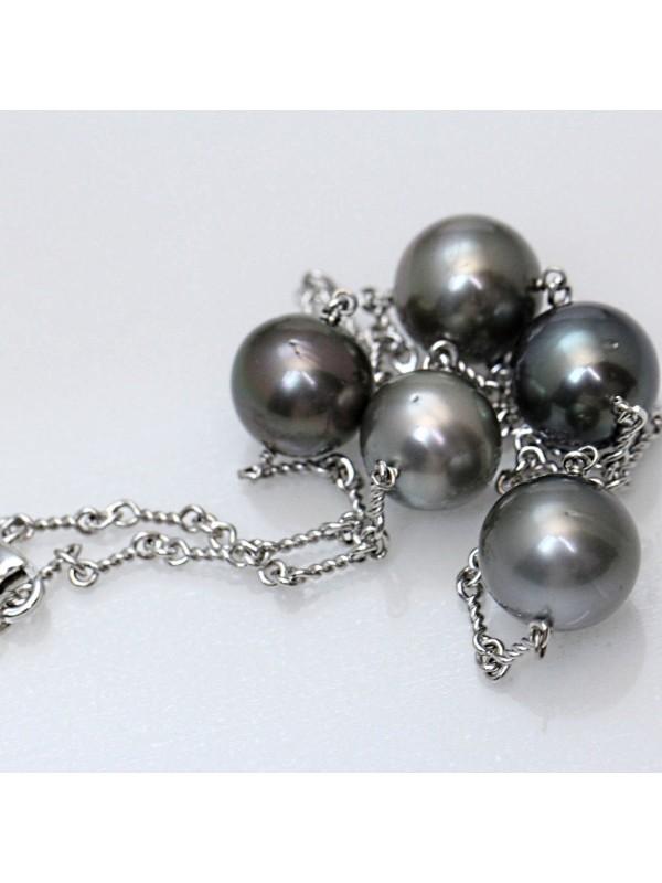 Collier Mia 5 perles de tahiti Moea Perles - 3