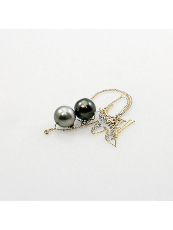 Collier Mia 2 perles de tahiti Moea Perles - 3