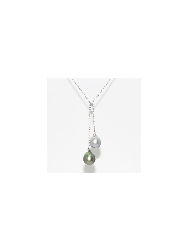 Collier Moa 2 perles de tahiti Moea Perles - 1