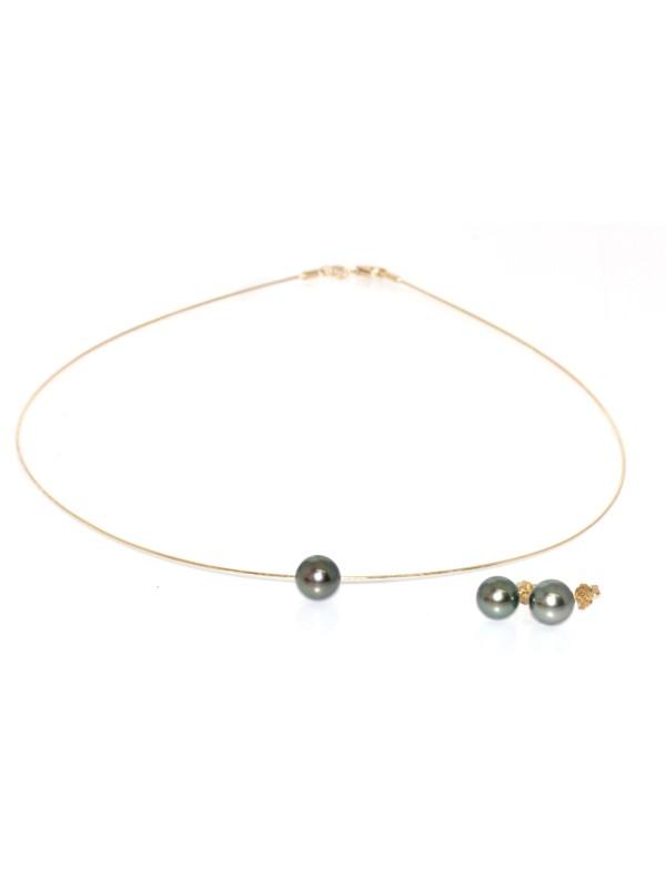 Parure or Joya perles de tahiti Moea Perles - 2