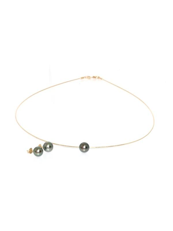 Parure or Joya perles de tahiti Moea Perles - 4
