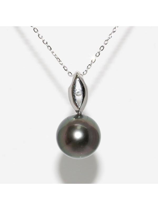 Pendentif en or Vahiti perle de Tahiti Moea Perles - 1
