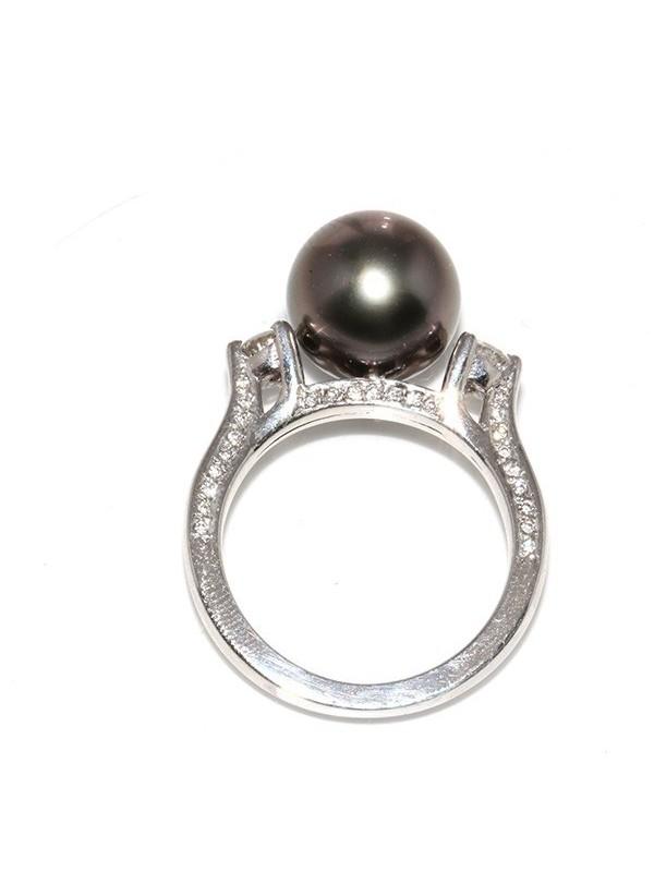 Bague VA'A perle de tahiti Moea Perles - 1