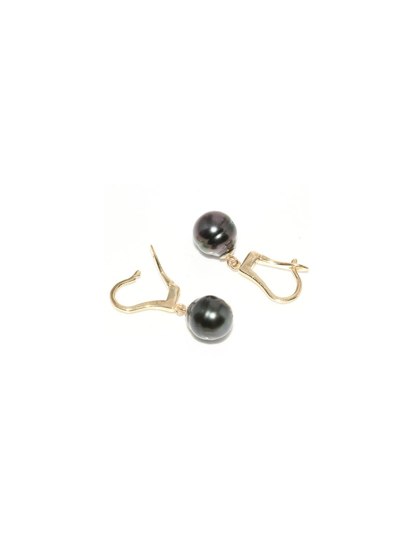 Boucles d'oreilles Tornea Moea Perles - 1