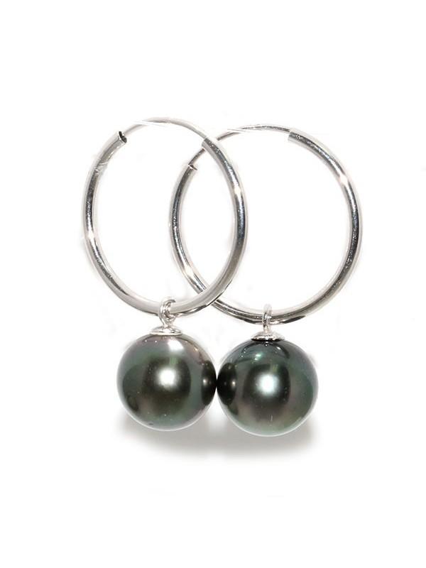 Boucles d'oreilles Oriah perle de Tahiti Moea Perles - 1