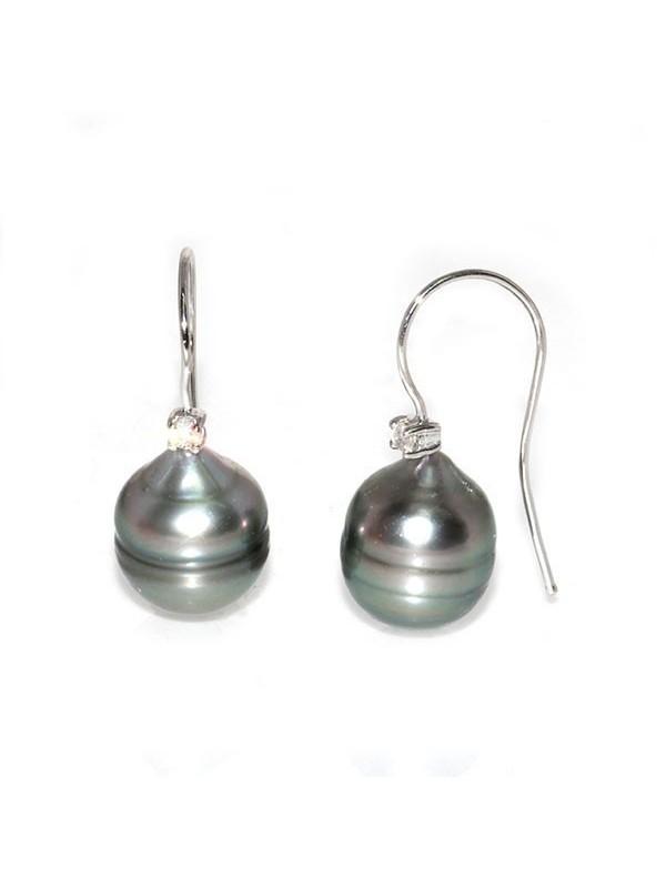 Boucles d'oreilles Titea perle de Tahiti Moea Perles - 1