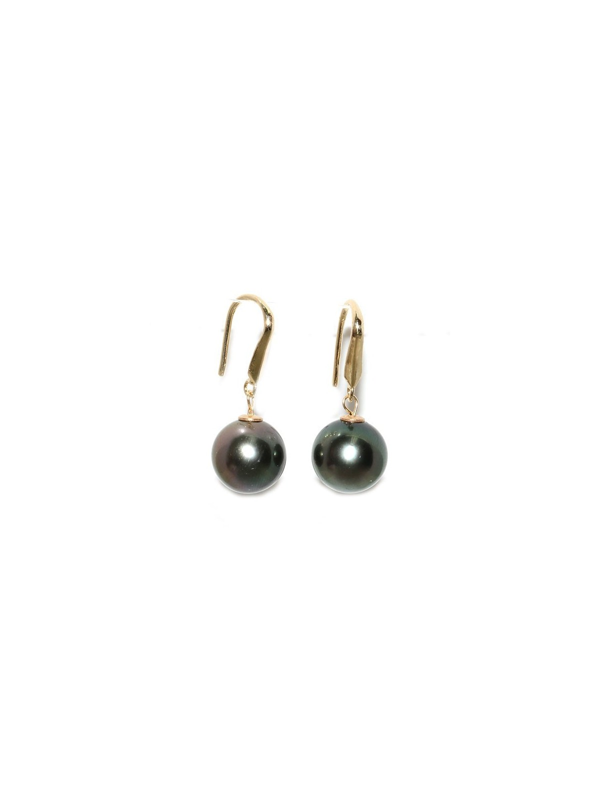 Boucles d'oreilles Elemoe Moea Perles - 1