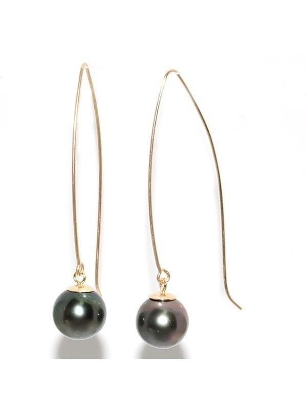 Boucles d'oreilles Emerina Moea Perles - 1