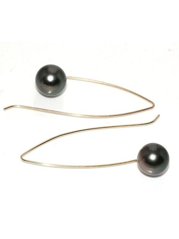 Boucles d'oreilles Emerina Moea Perles - 2