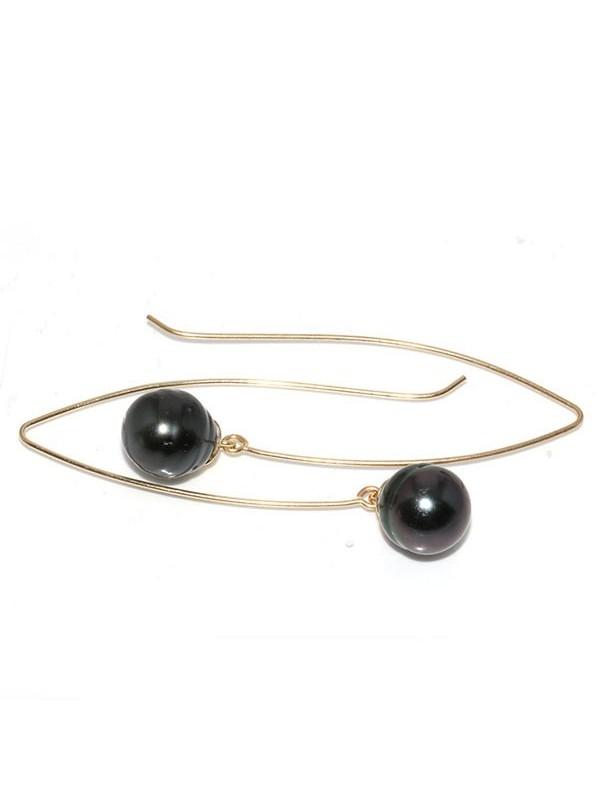 Boucles d'oreilles Emiri Moea Perles - 2