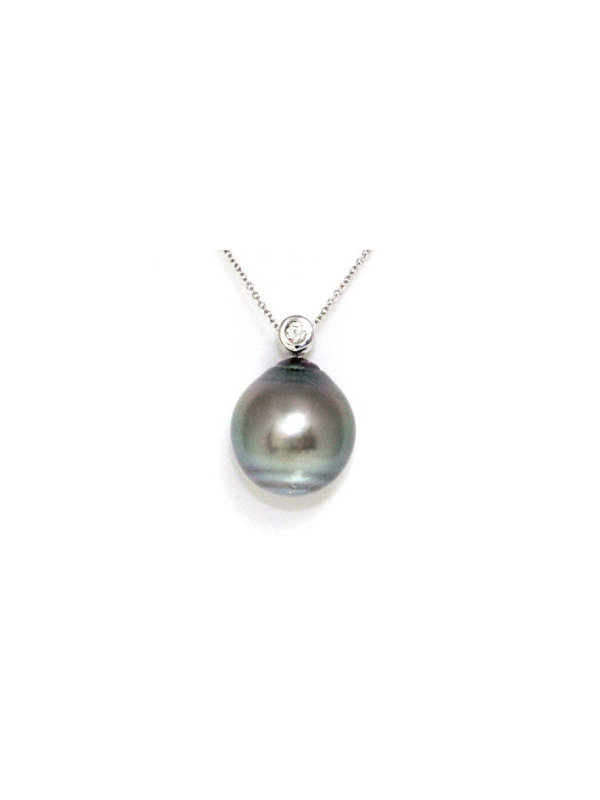 Pendentif en or Tuahine perle de Tahiti Moea Perles - 1