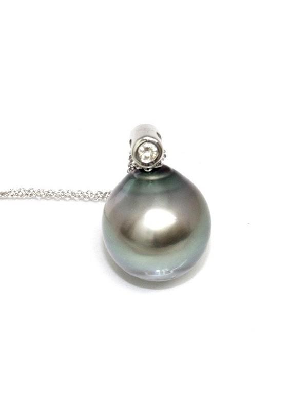 Pendentif en or Tuahine perle de Tahiti Moea Perles - 4