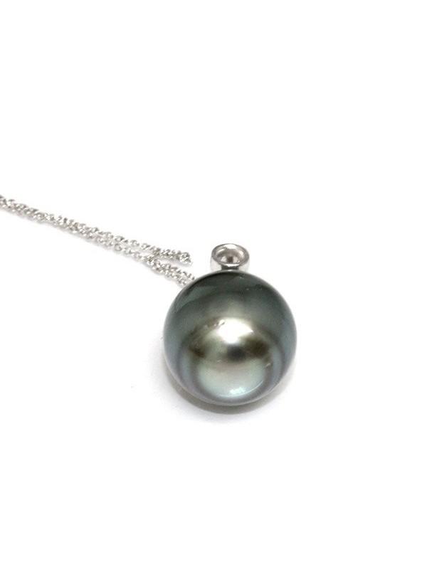 Pendentif en or Tuahine perle de Tahiti Moea Perles - 2