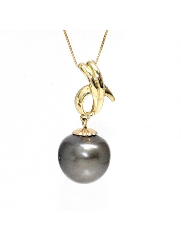 Pendentif Ohu perles de tahiti Moea Perles - 1