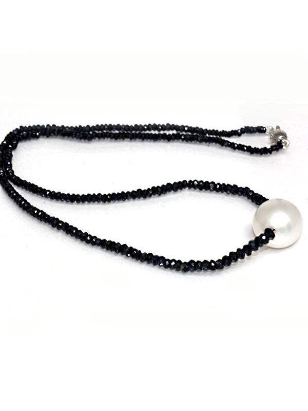 Collier perle australie et saphir Moea Perles - 3