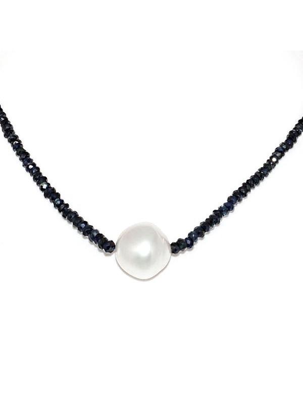 Collier perle australie et saphir Moea Perles - 2