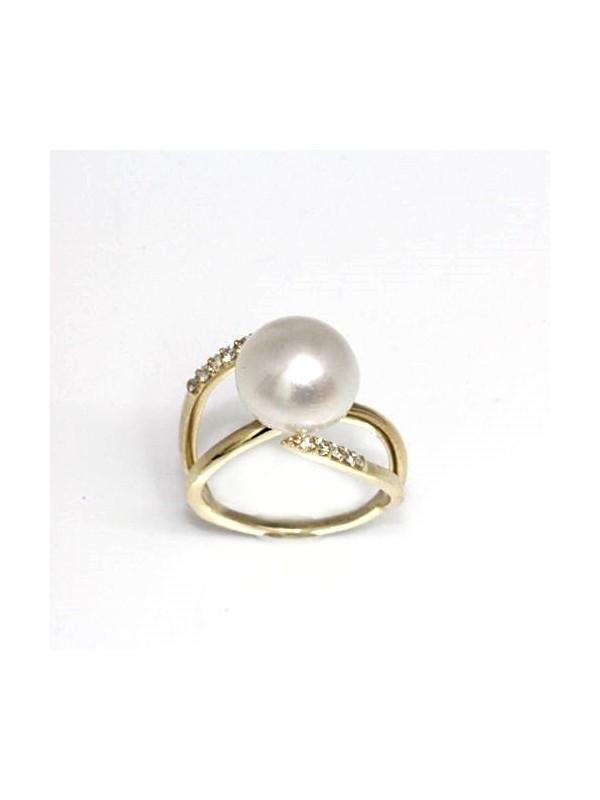 Bague Mah perle australie Moea Perles - 4