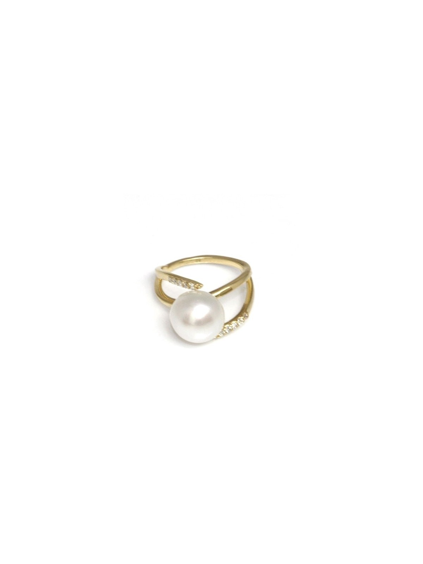 Bague Mah perle australie Moea Perles - 3