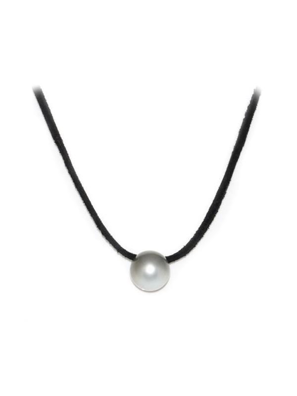 Collier cuir noir 13mm Moea Perles - 2