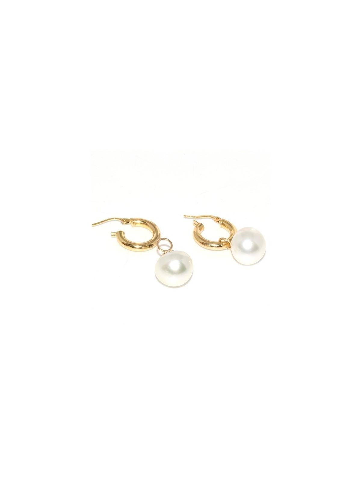 Boucles d'oreilles créoles Faanui Moea Perles - 2