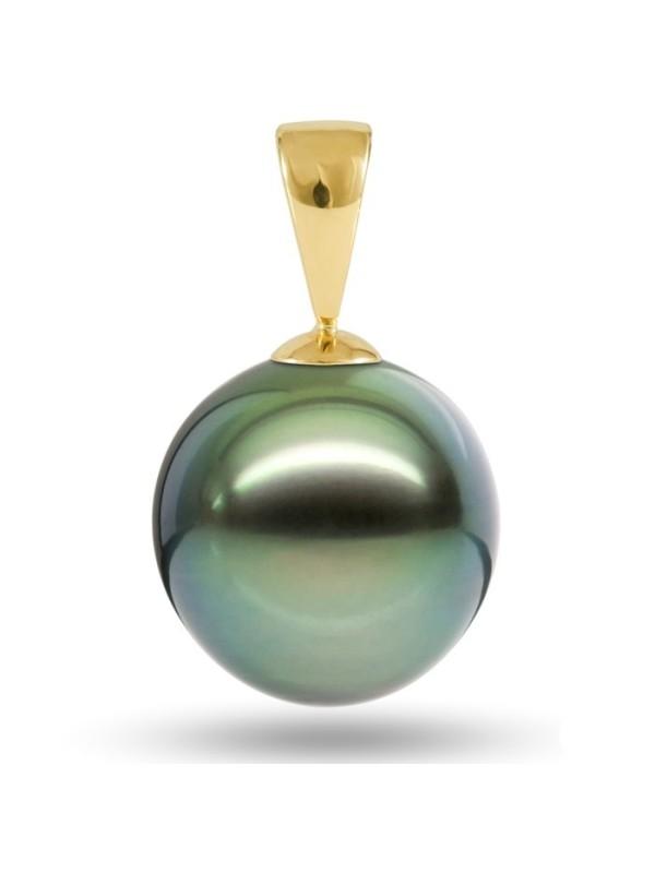 Pendentif en or Teva perle de Tahiti Moea Perles - 5