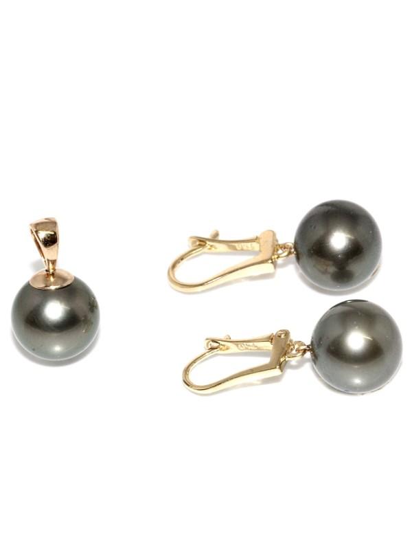 Parure or Manoa perles de tahiti Moea Perles - 1