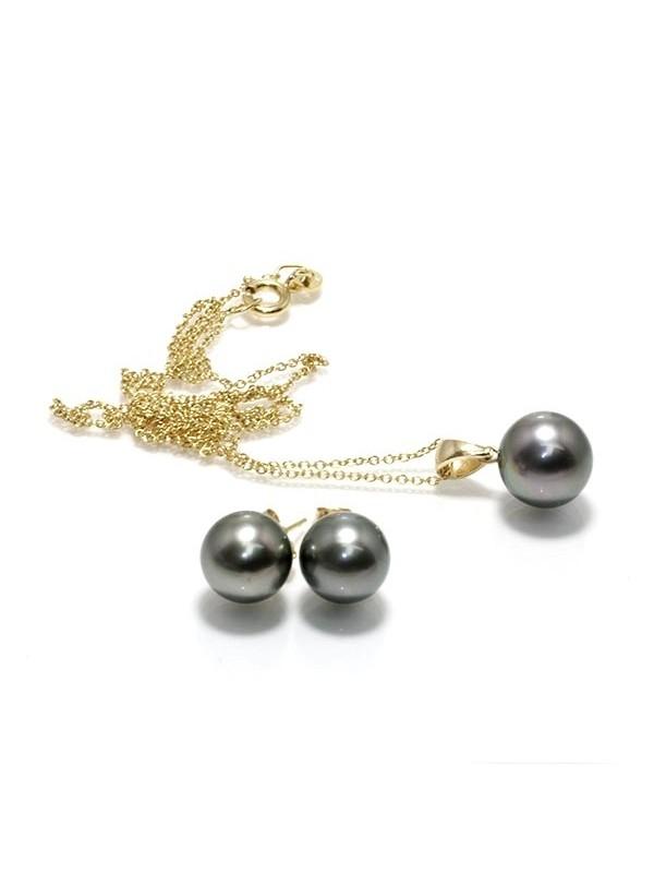 Parure or Heiura perles de tahiti Moea Perles - 1