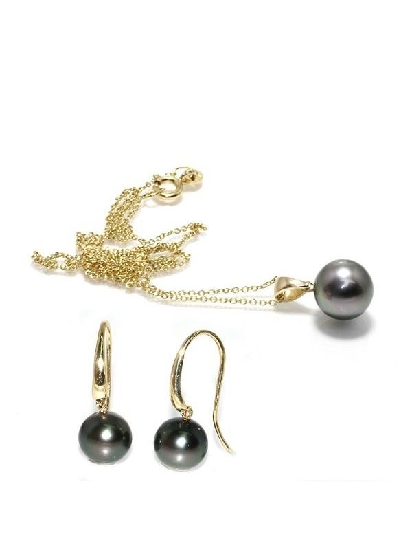 Parure or Fanu perles de tahiti Moea Perles - 1