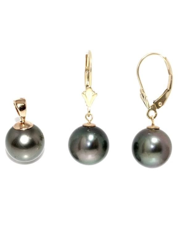Parure or Hera perles de tahiti Moea Perles - 1