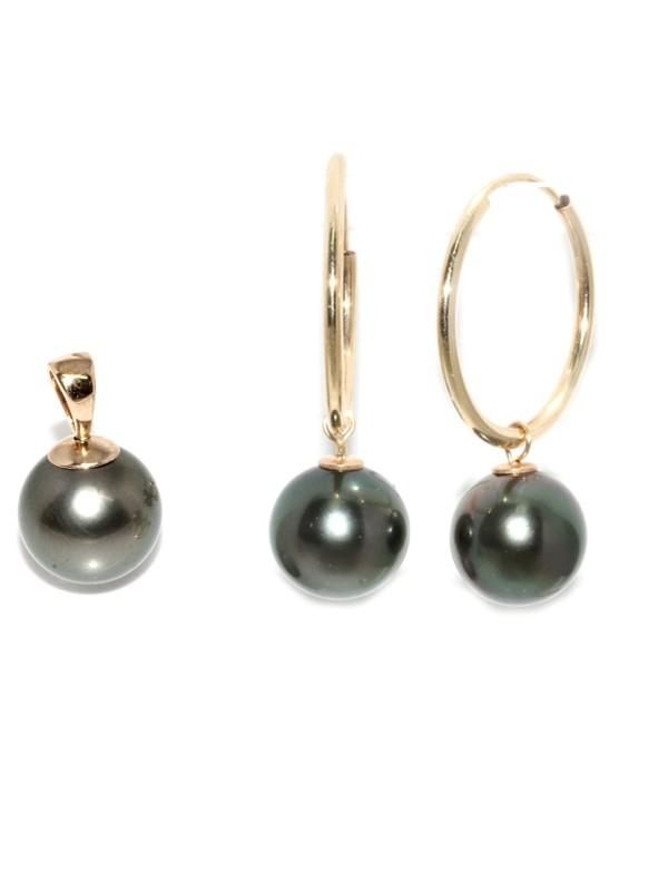 Parure or Hinano perles de tahiti Moea Perles - 1