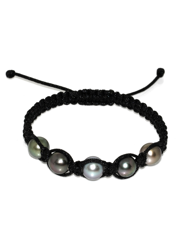 Bracelet Inapo shamballa 5 perles Moea Perles - 1