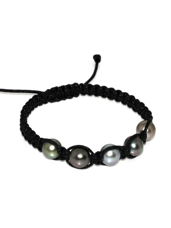 Bracelet Inapo shamballa 5 perles Moea Perles - 3
