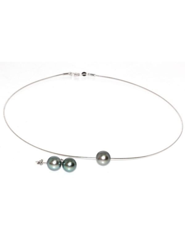 Parure or Joya perles de tahiti Moea Perles - 1