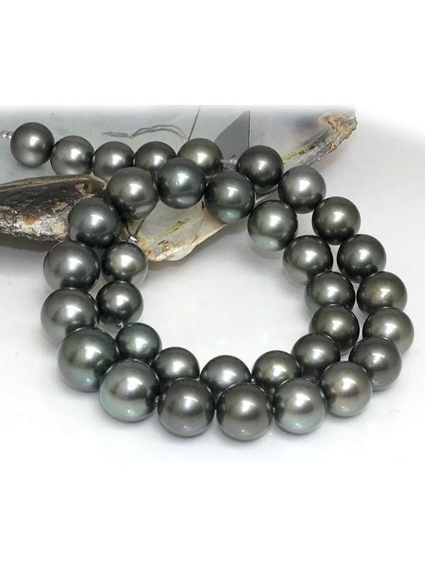 Collier 14-11mm AAA Moea Perles - 4