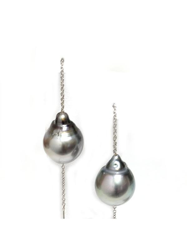 Boucles d'oreilles Myea Moea Perles - 1