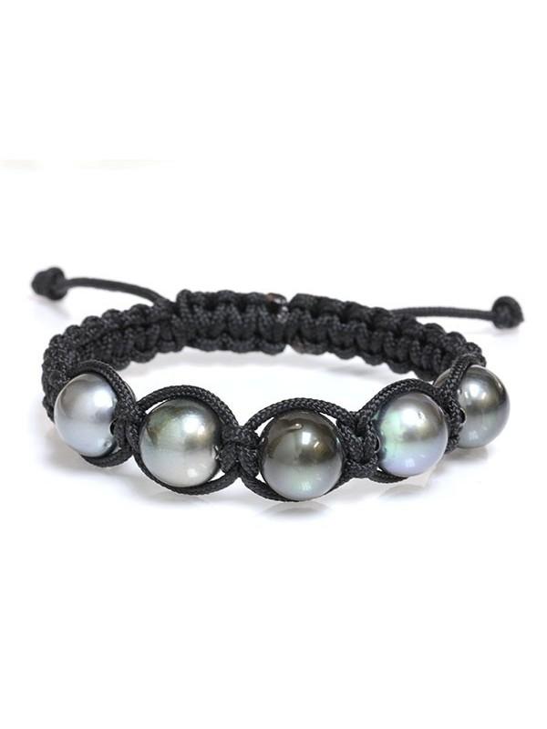 Bracelet Ina shamballa 5 perles Moea Perles - 1