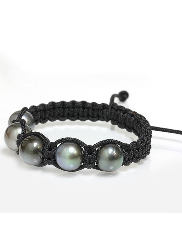 Bracelet Ina shamballa 5 perles Moea Perles - 2