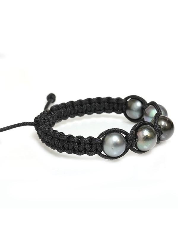 Bracelet Ina shamballa 5 perles Moea Perles - 3