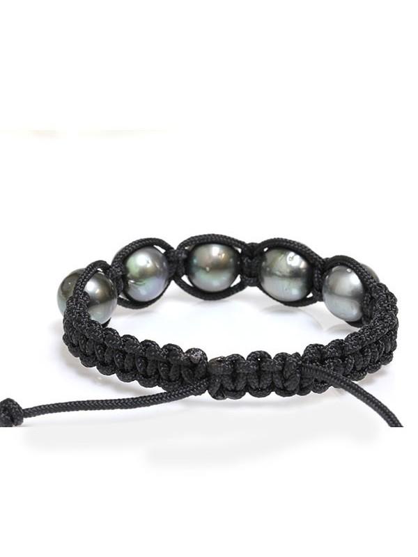 Bracelet Ina shamballa 5 perles Moea Perles - 4