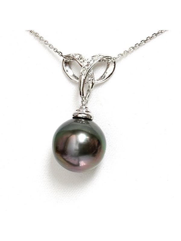 Pendentif or Vaiena 13mm Moea Perles - 1