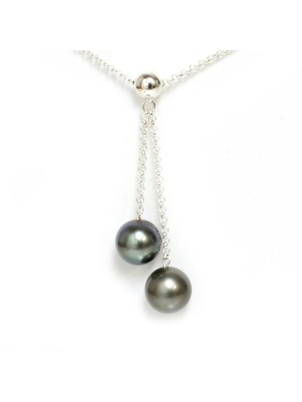 Pendentif Metua perle de Tahiti Moea Perles - 1
