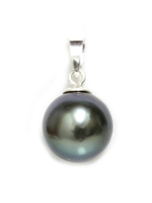 Pendentif en or Tainui perle de Tahiti Moea Perles - 2