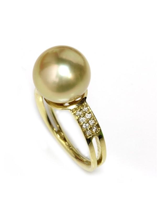 Bague Arii perle d'australie Moea Perles - 1