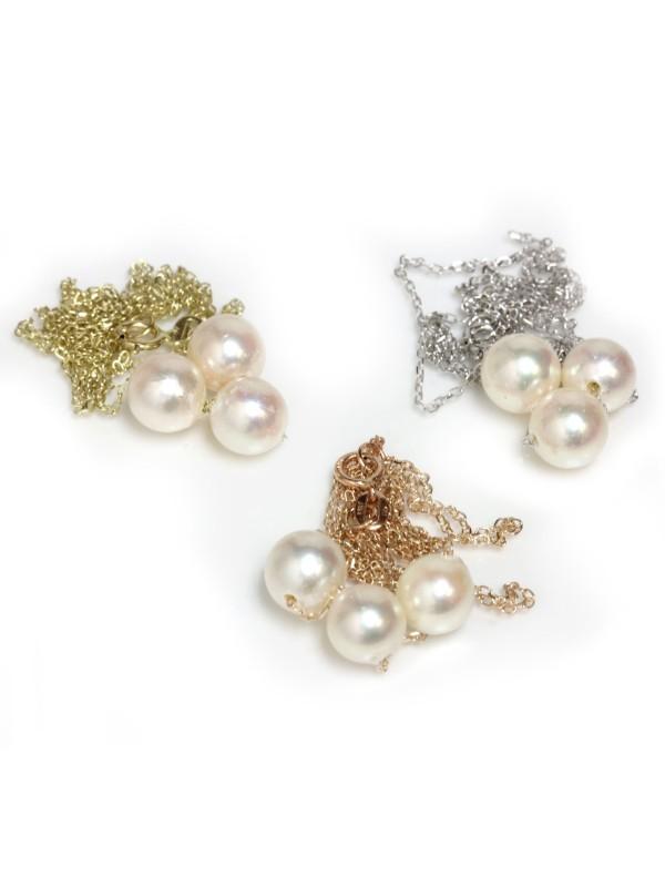 Collier Tioi perle Akoya Moea Perles - 2