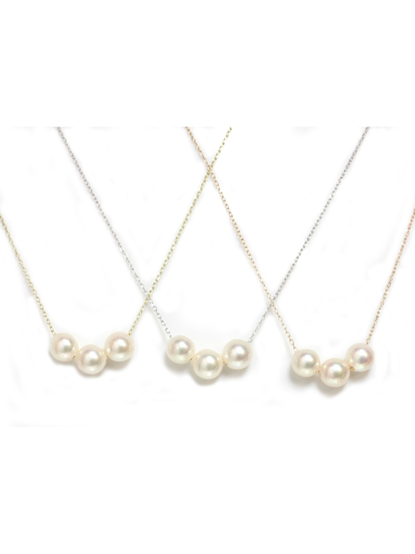 Collier Tioi perle Akoya Moea Perles - 1