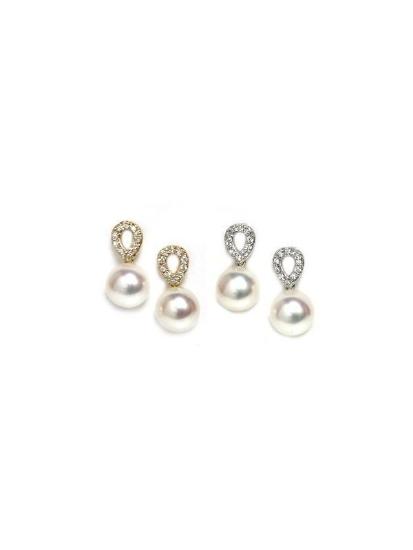 Boucles d'oreilles Revea perle Akoya Moea Perles - 1