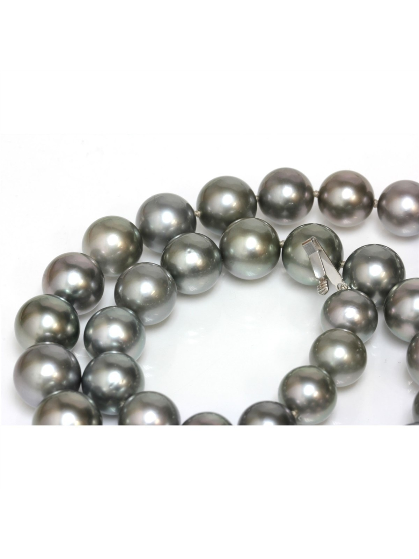 Collier Bora Bora rond 10-13mm Moea Perles - 5