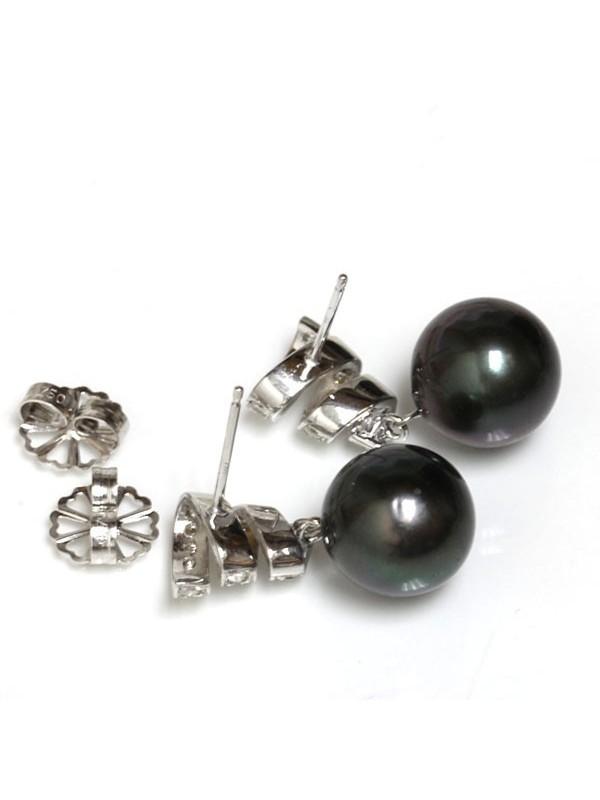 Boucles d'oreilles Fara perle de Tahiti Moea Perles - 6