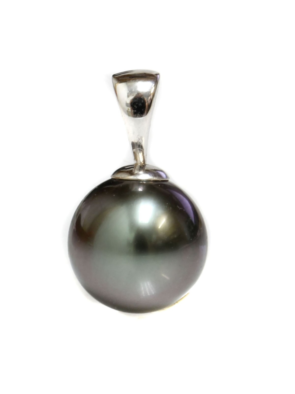 Pendentif en or Teva perle de Tahiti Moea Perles - 1