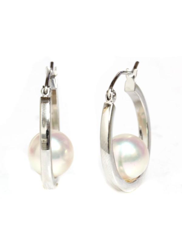 Boucles d'oreilles Akoya Ho Moea Perles - 5